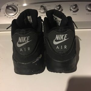 Nike Air Max 90 Black Tape, 3M Reflective Silver